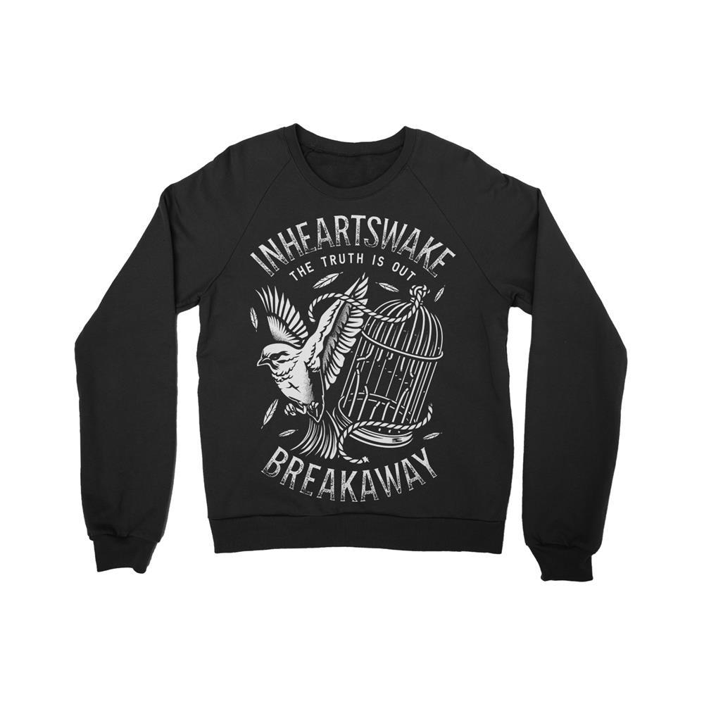 Breakaway Black Crewneck