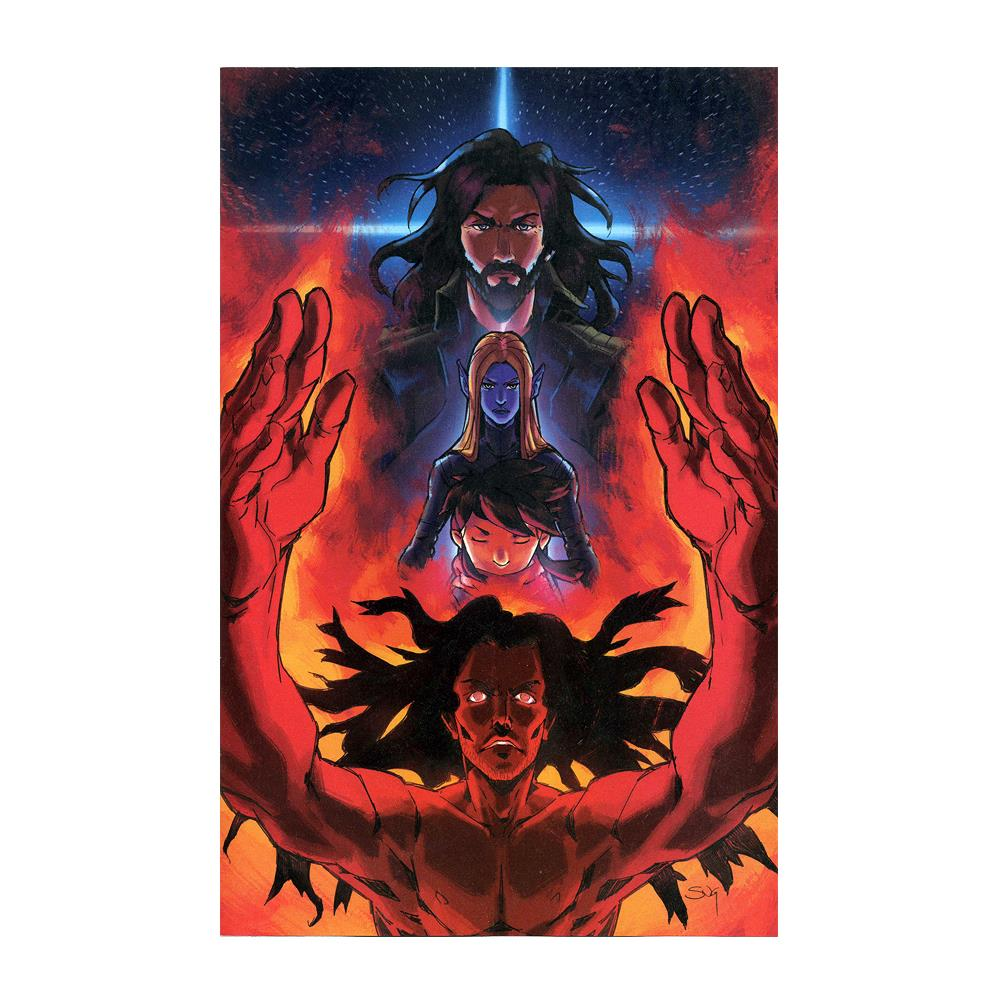 Good Apollo, I'm Burning Star IV Issue 8 Variant  Comic Book