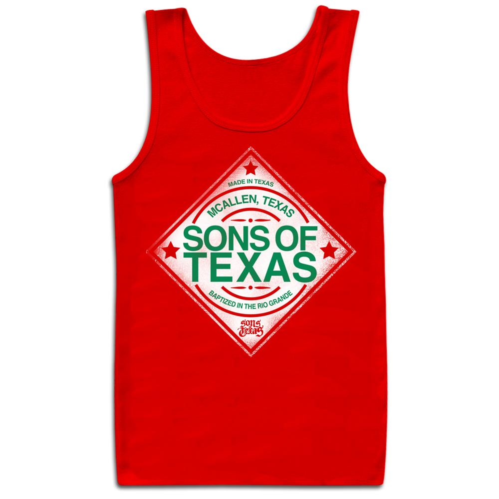 Hot Sauce  Red Tank Top