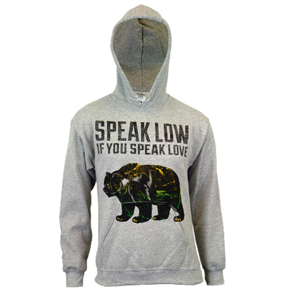 Bear Heather Grey Pullover