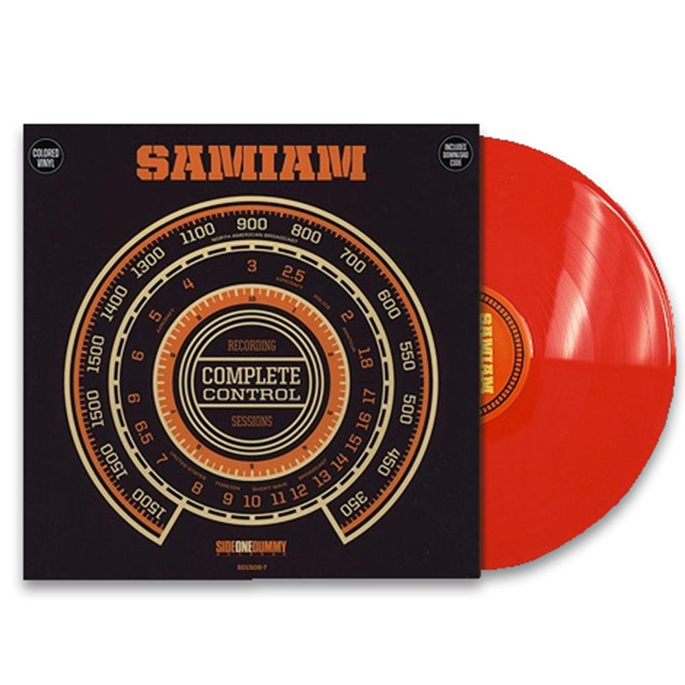 Complete Control Sessions Red LP