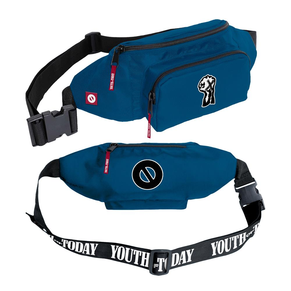 Fist Logo Royal Blue Fanny Pack