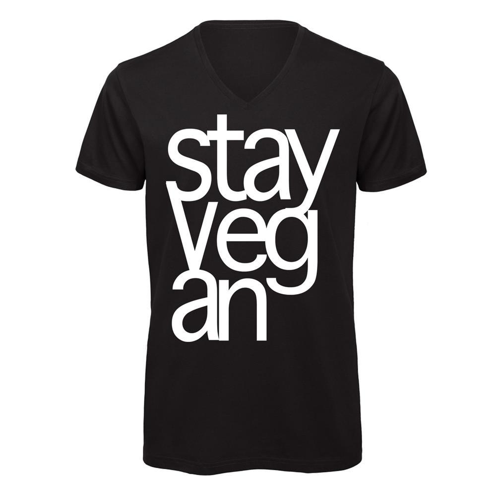 Stay Vegan Black