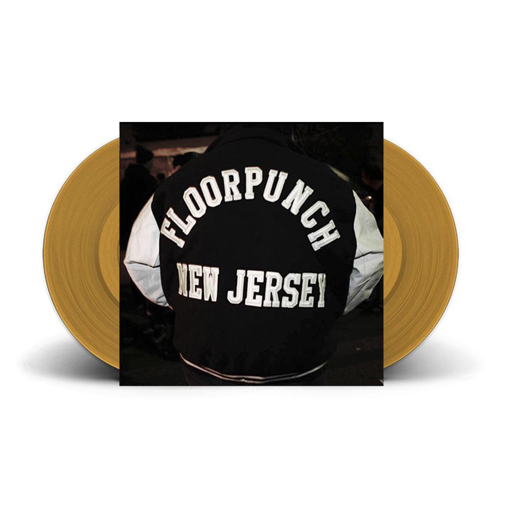 New Jersey Double Gatefold Gold LP