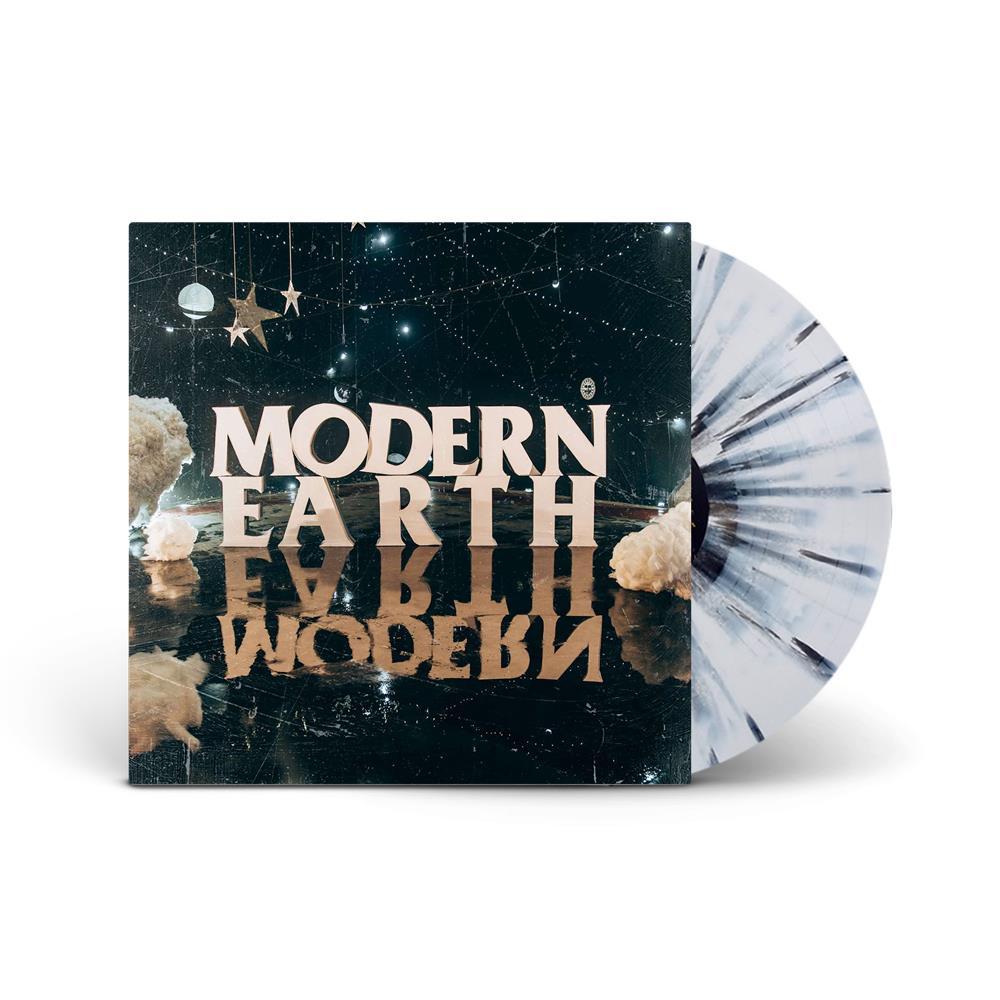 Modern Earth Black W/ White Splatter