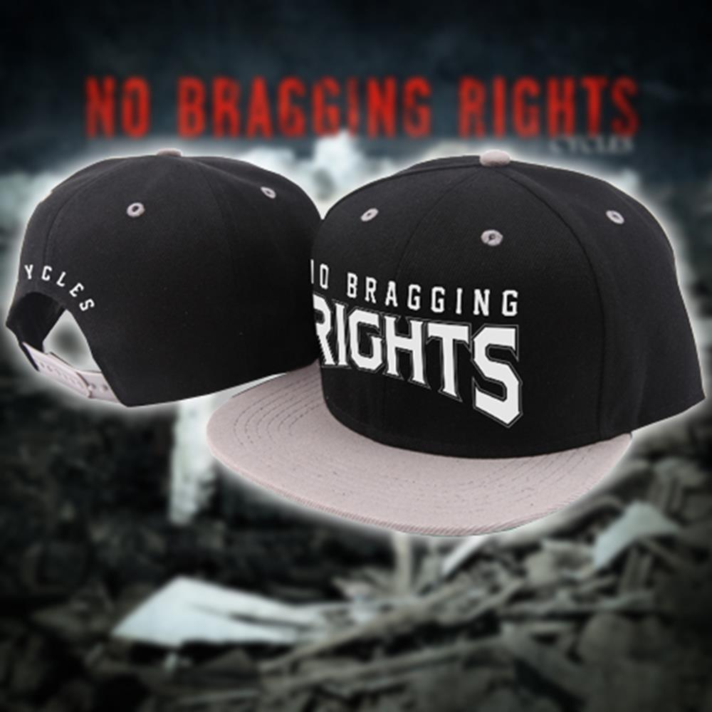 Cycles Black/Grey Snap-Back Hat