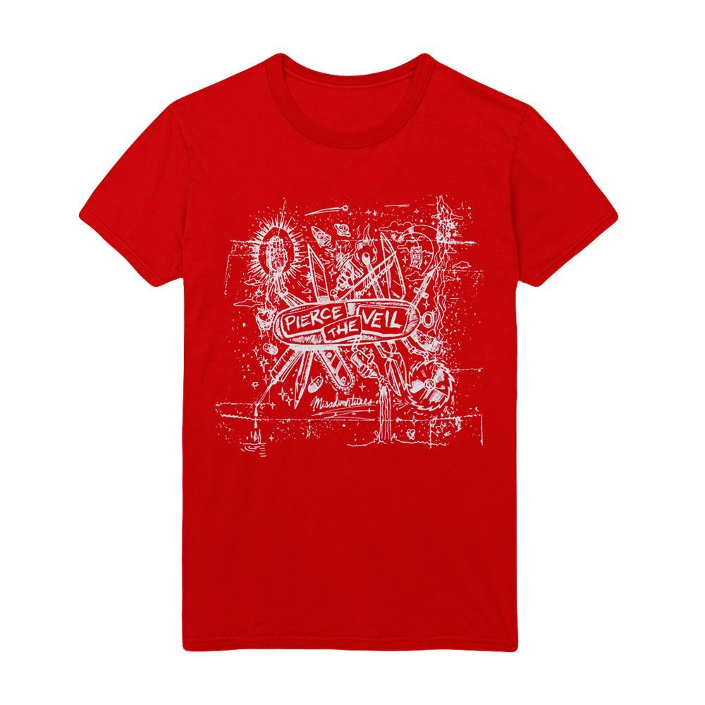 Misadventures Red T-Shirt