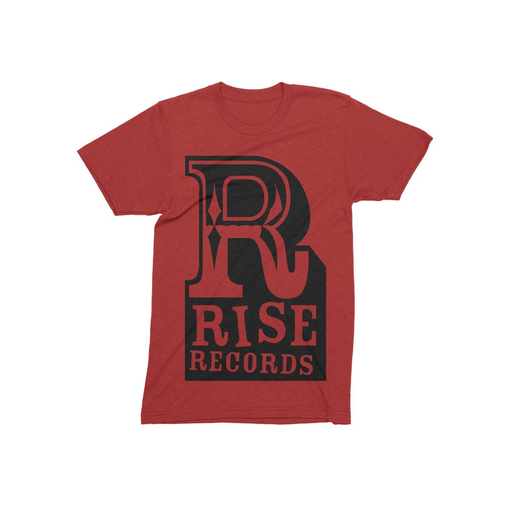 R Logo Heather Red
