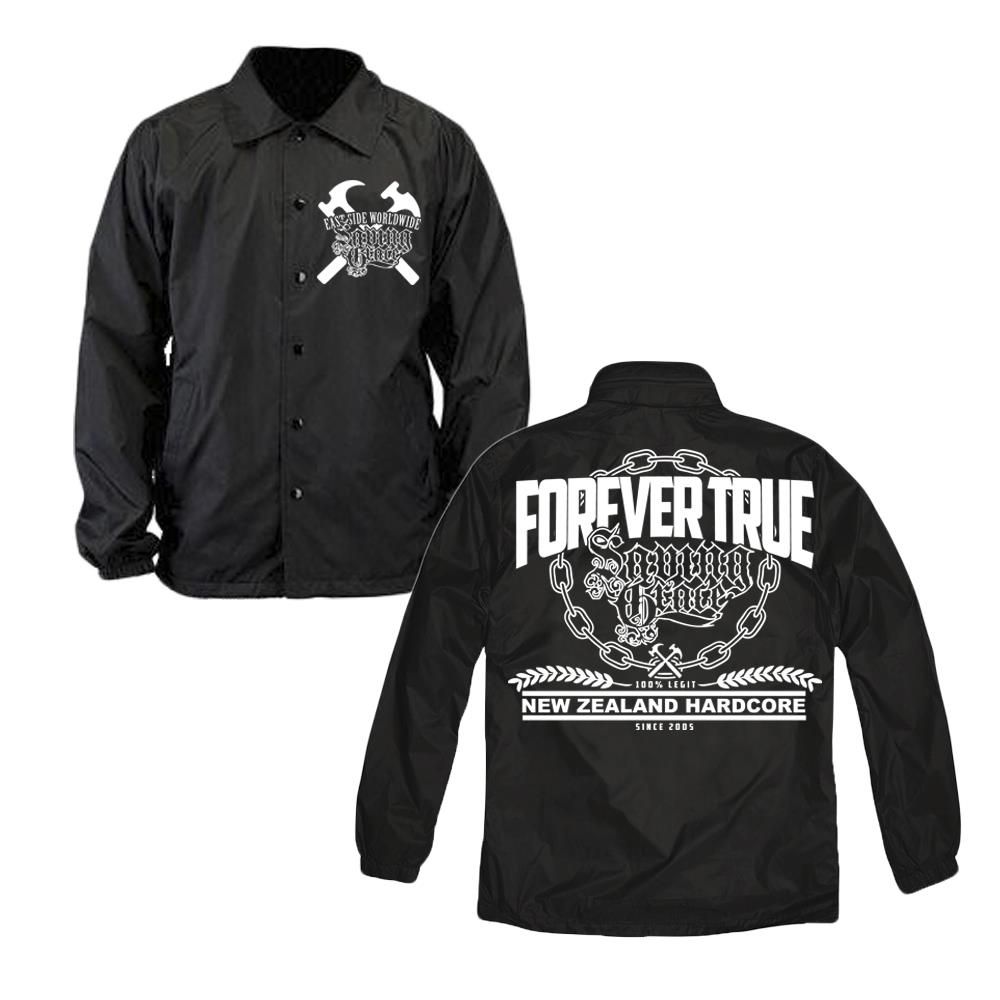Forever True Black Windbreakers