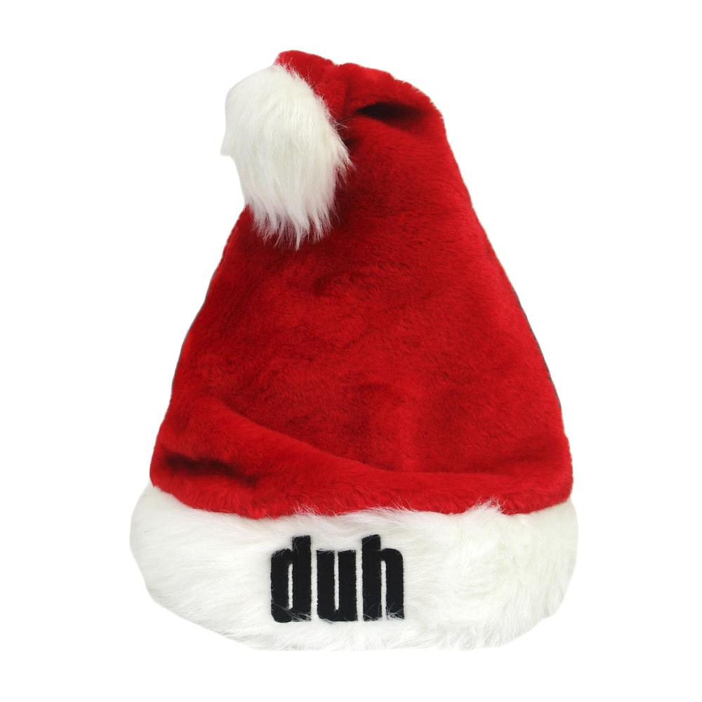 Duh Red Santa Hat