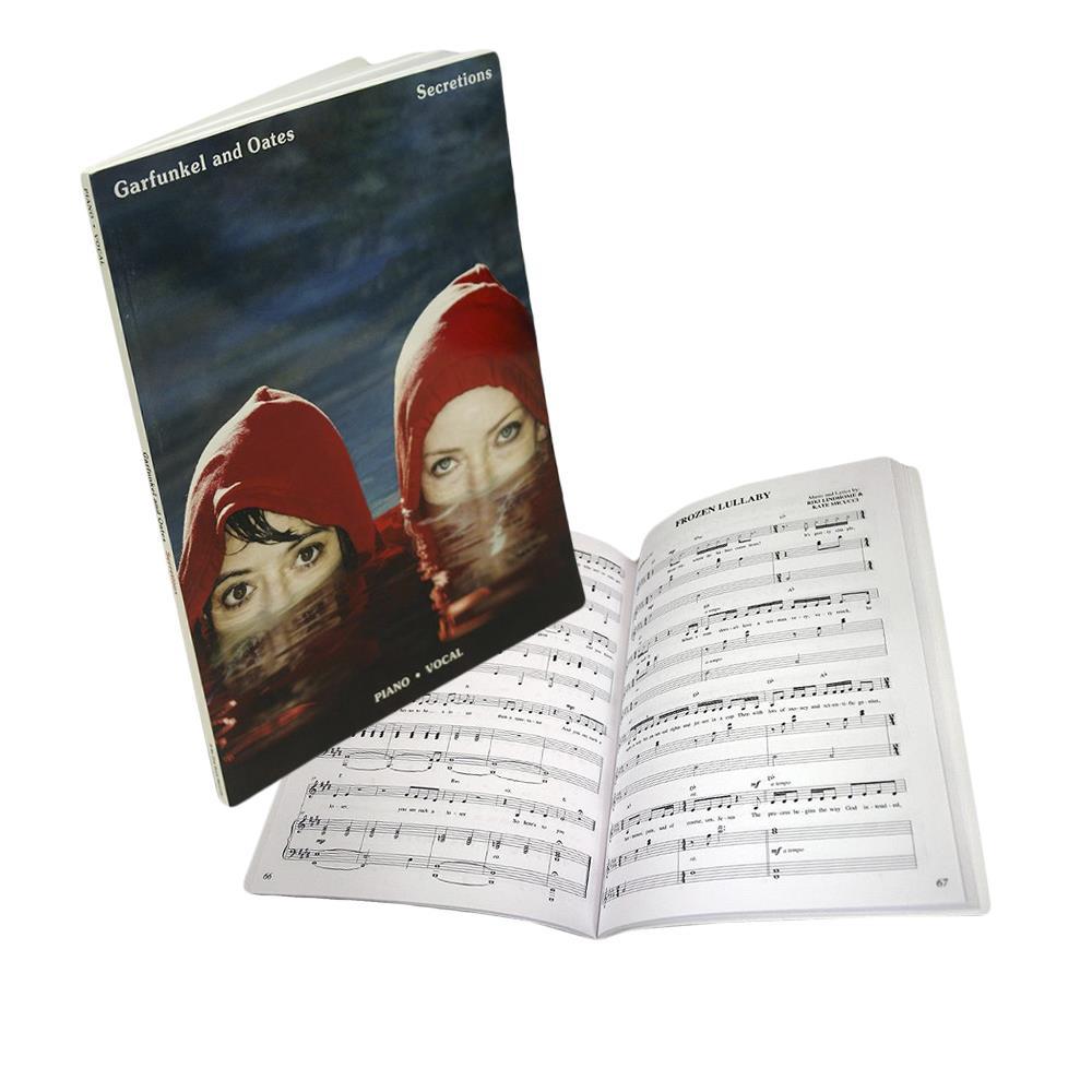 Secretions  Sheet Music Book