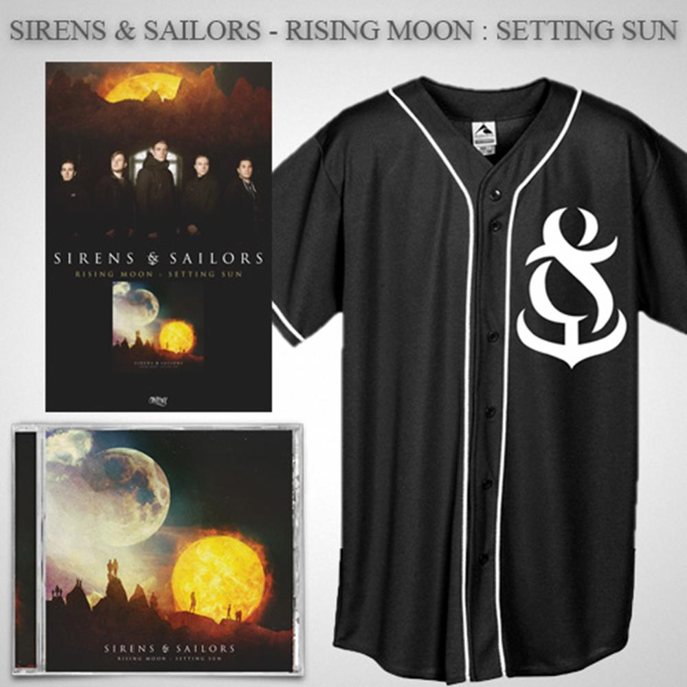 Rising Moon: Setting Sun CD + Jersey + Poster + Digital Download