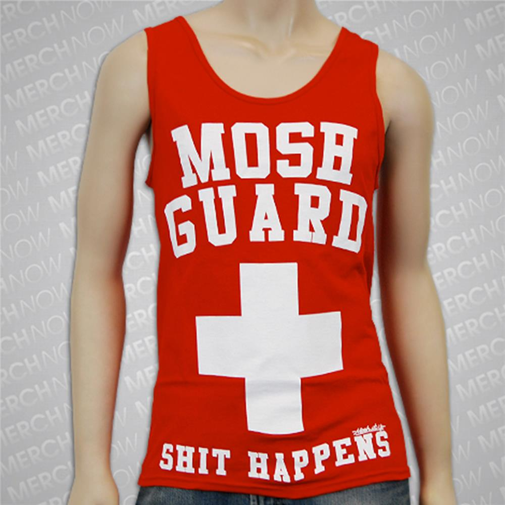 Mosh Guard Red Tank Top