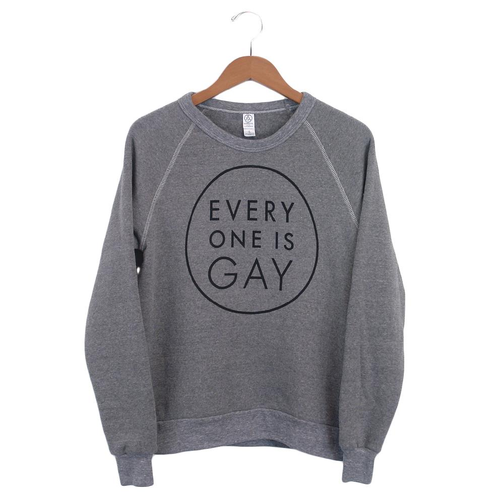 Logo Heather Grey Crewneck