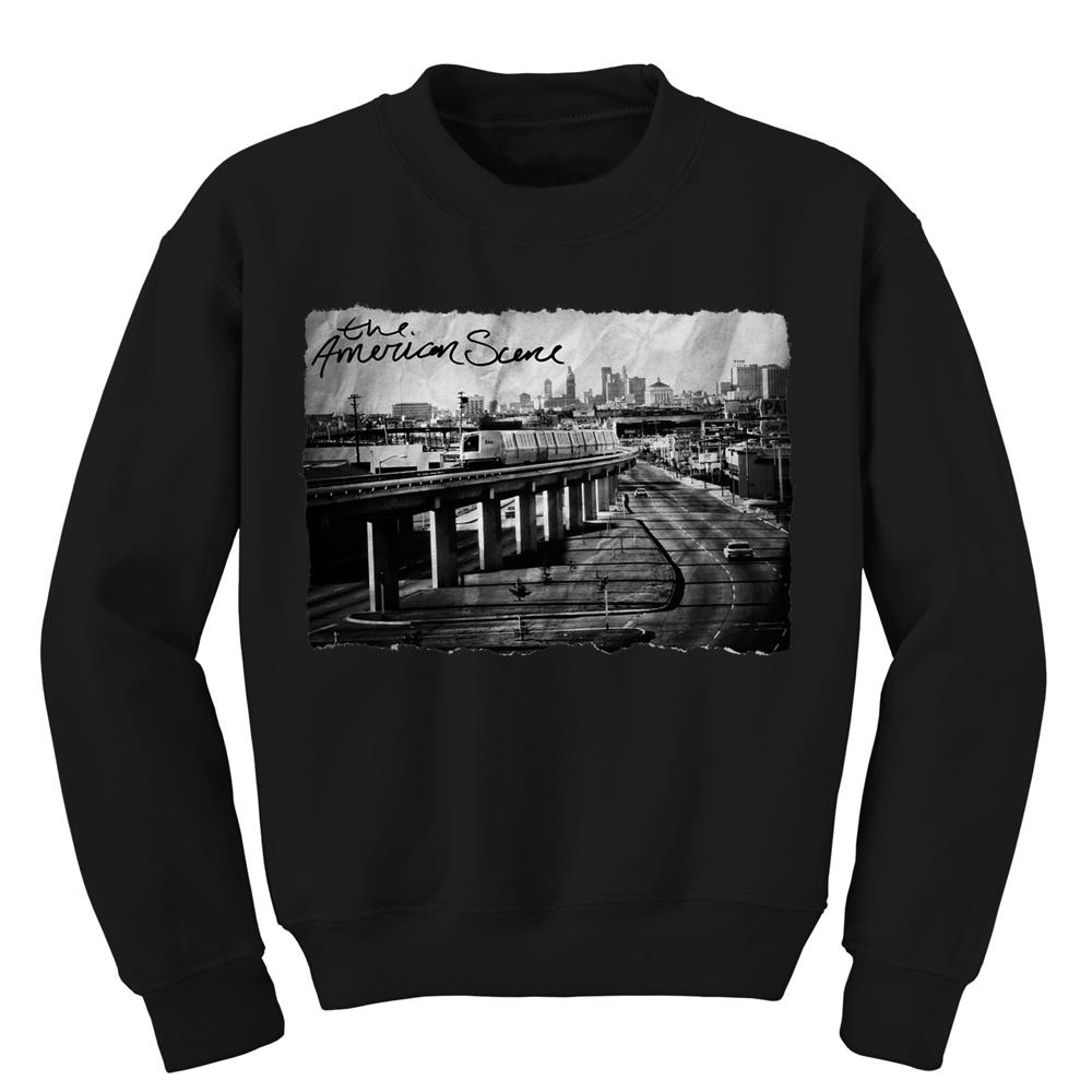 Oakland Black Crewneck