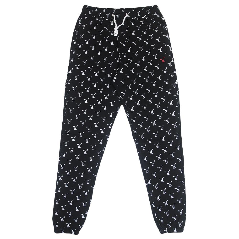 All-Over-Print Wolf Black