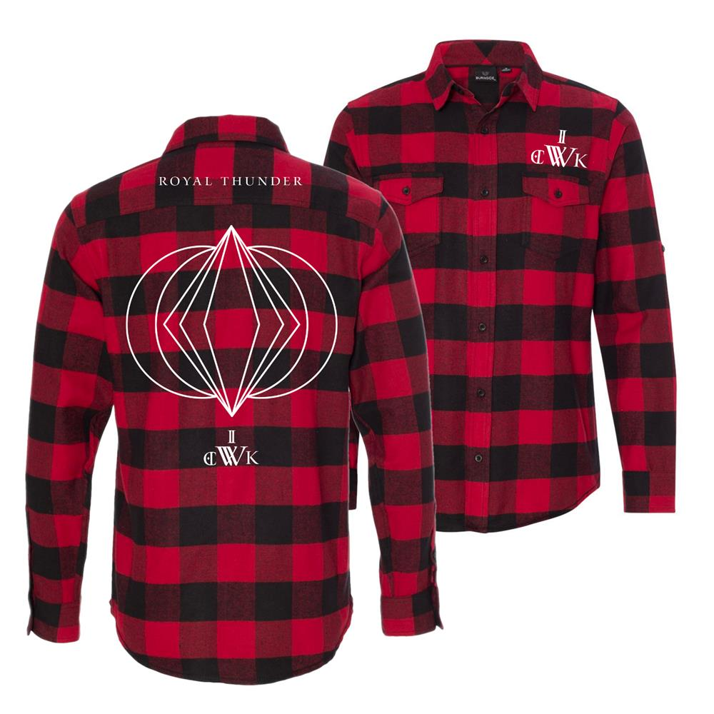 Wick Red/Black Flannel