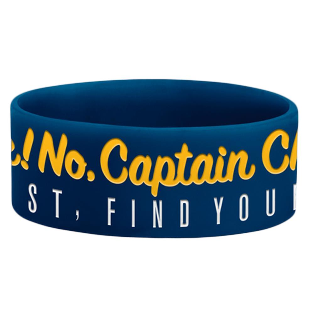 Get Lost, Find Yourself Blue Wristband