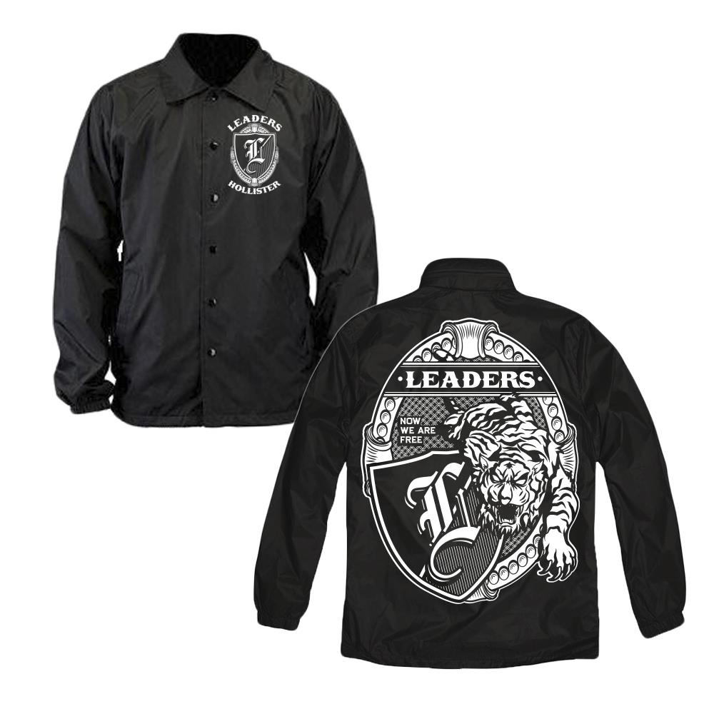Tiger Black Windbreaker