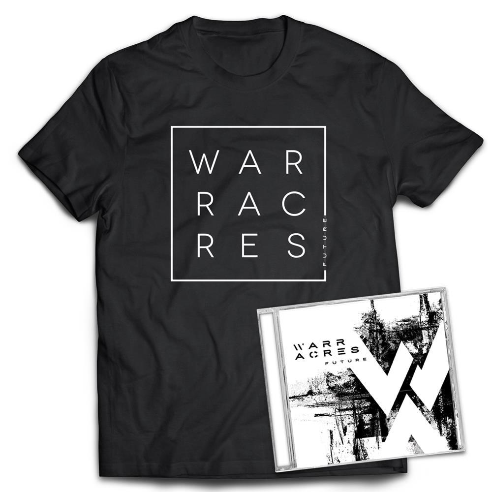 Warr Acres - Future CD + T-shirt