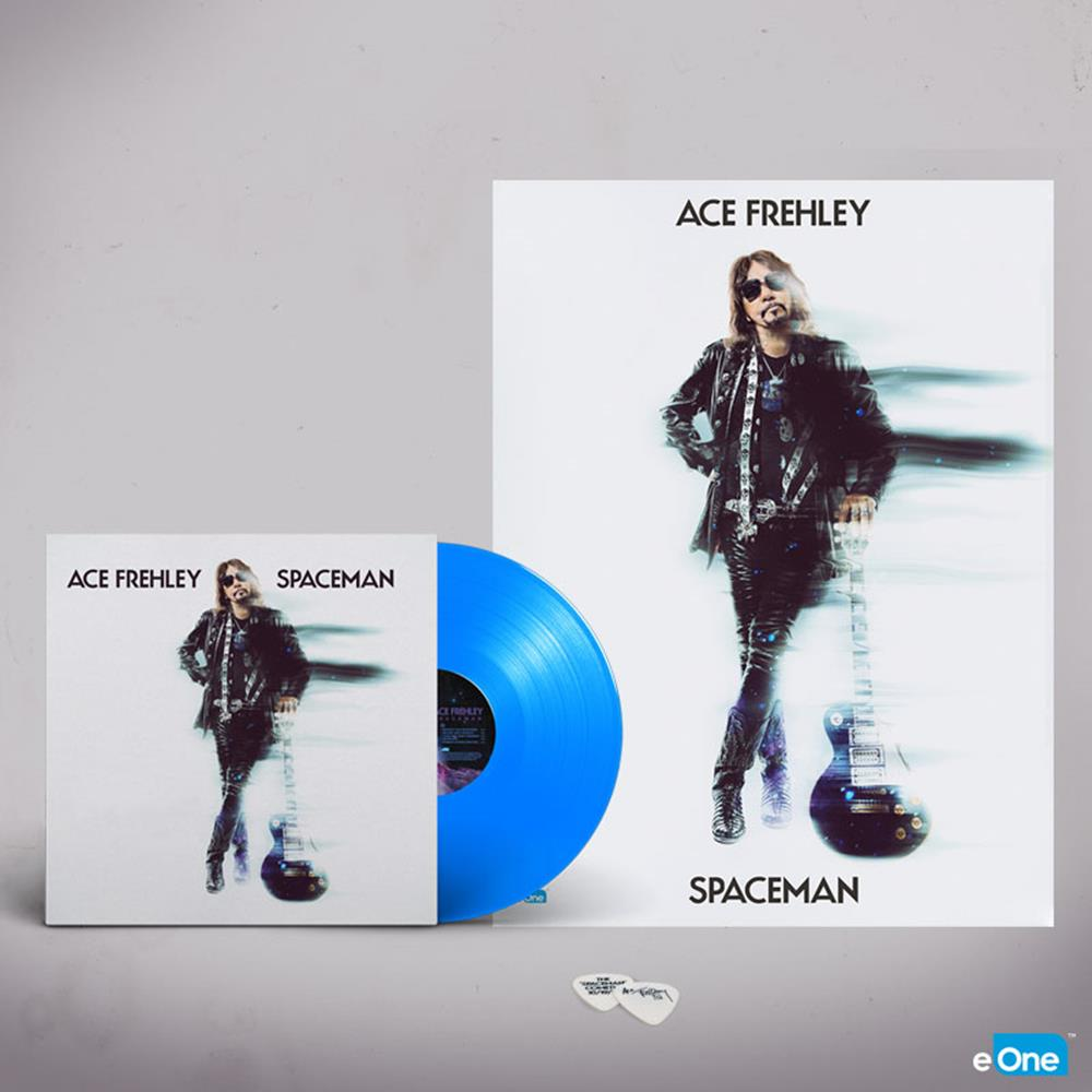 Spaceman Blue Vinyl + Poster + Guitar Pic