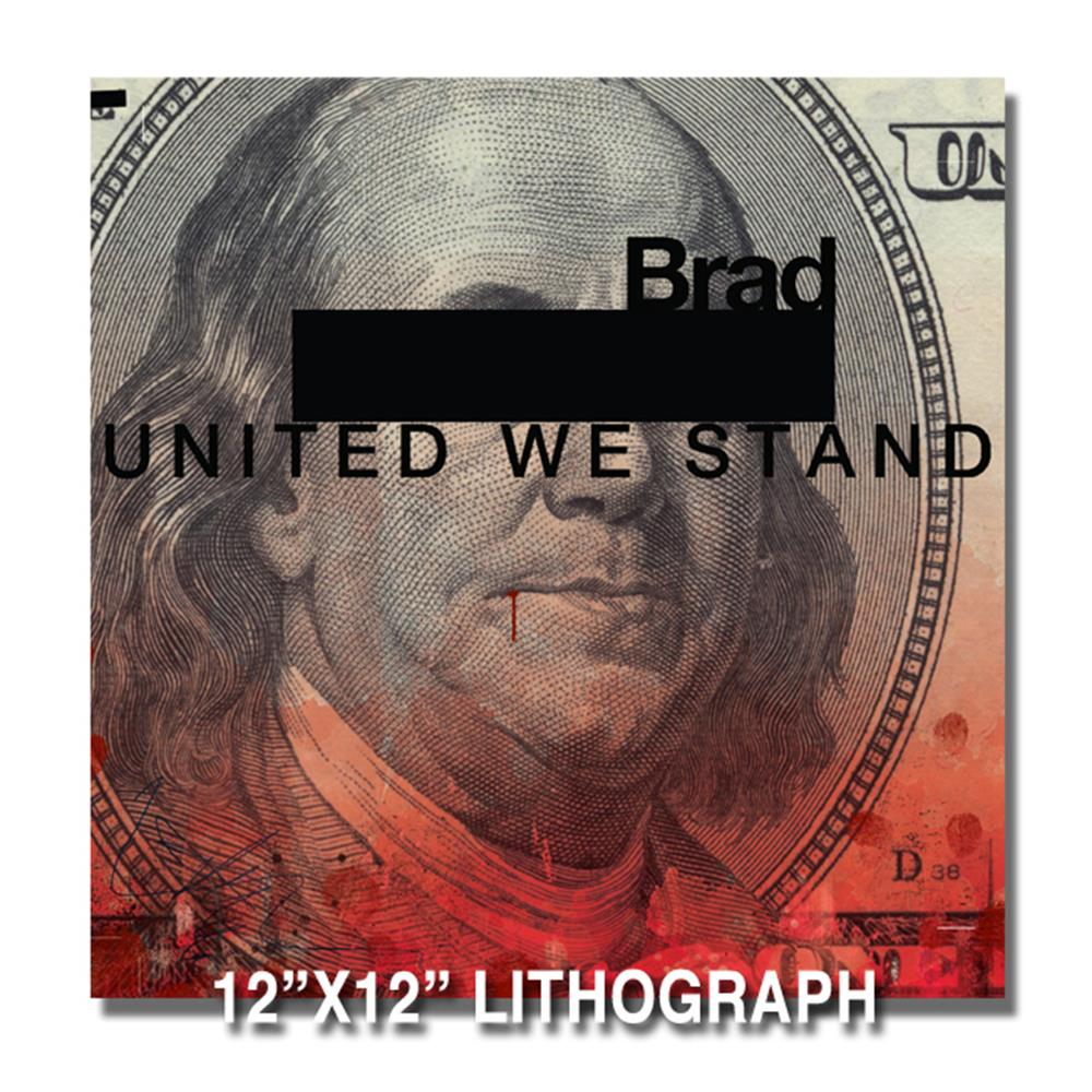 United We Stand Lithograph
