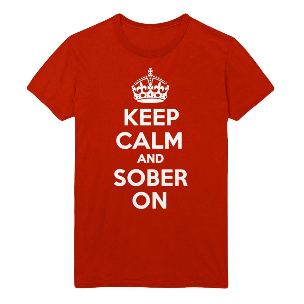 Keep Calm & Sober On Red
