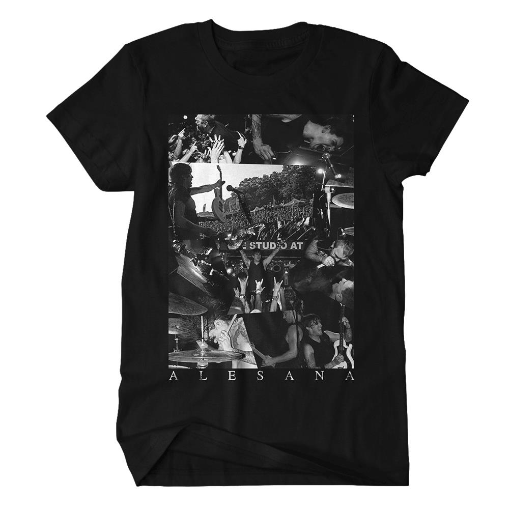 Live Photo Black T-Shirt
