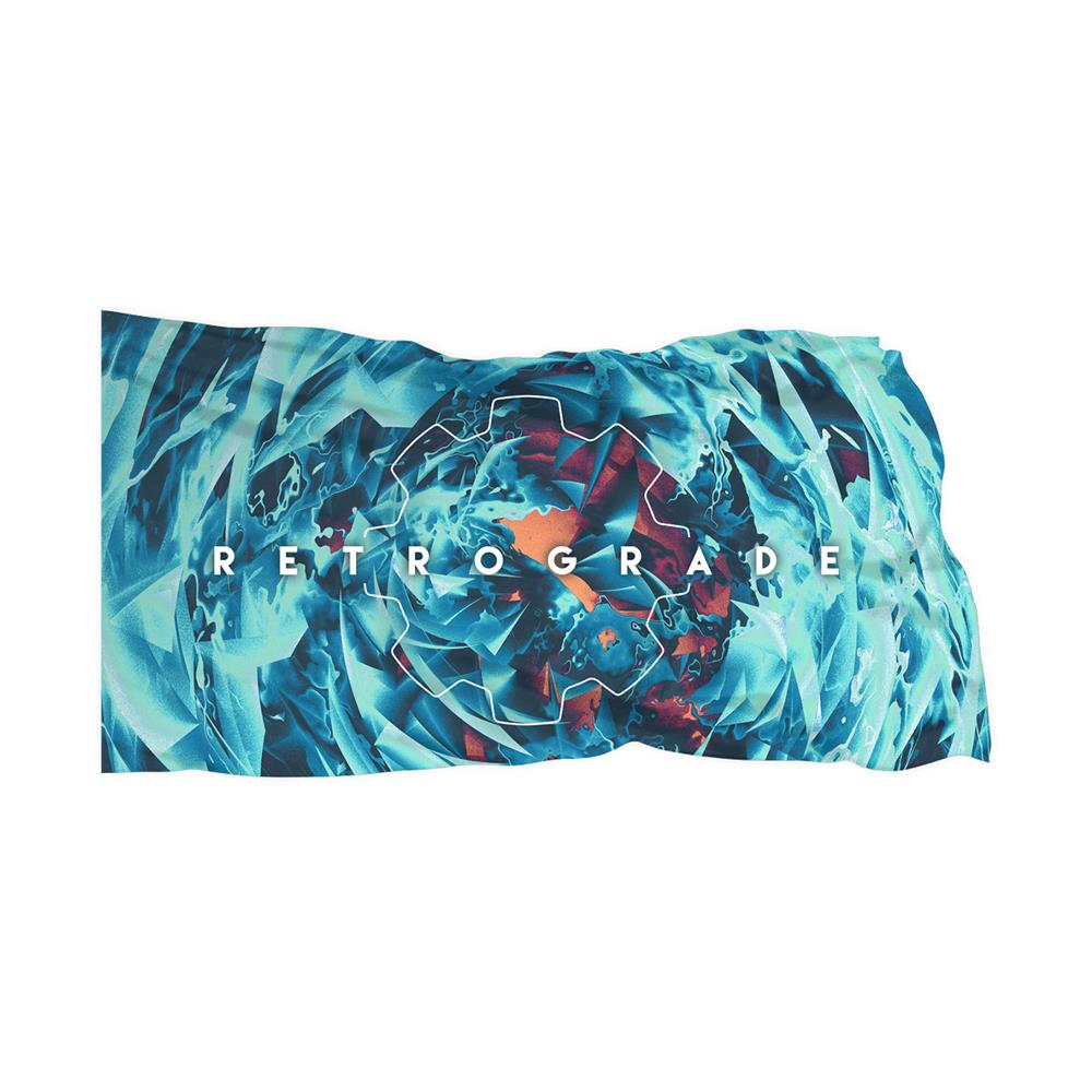 Retrograde  3X5 Wall Flag