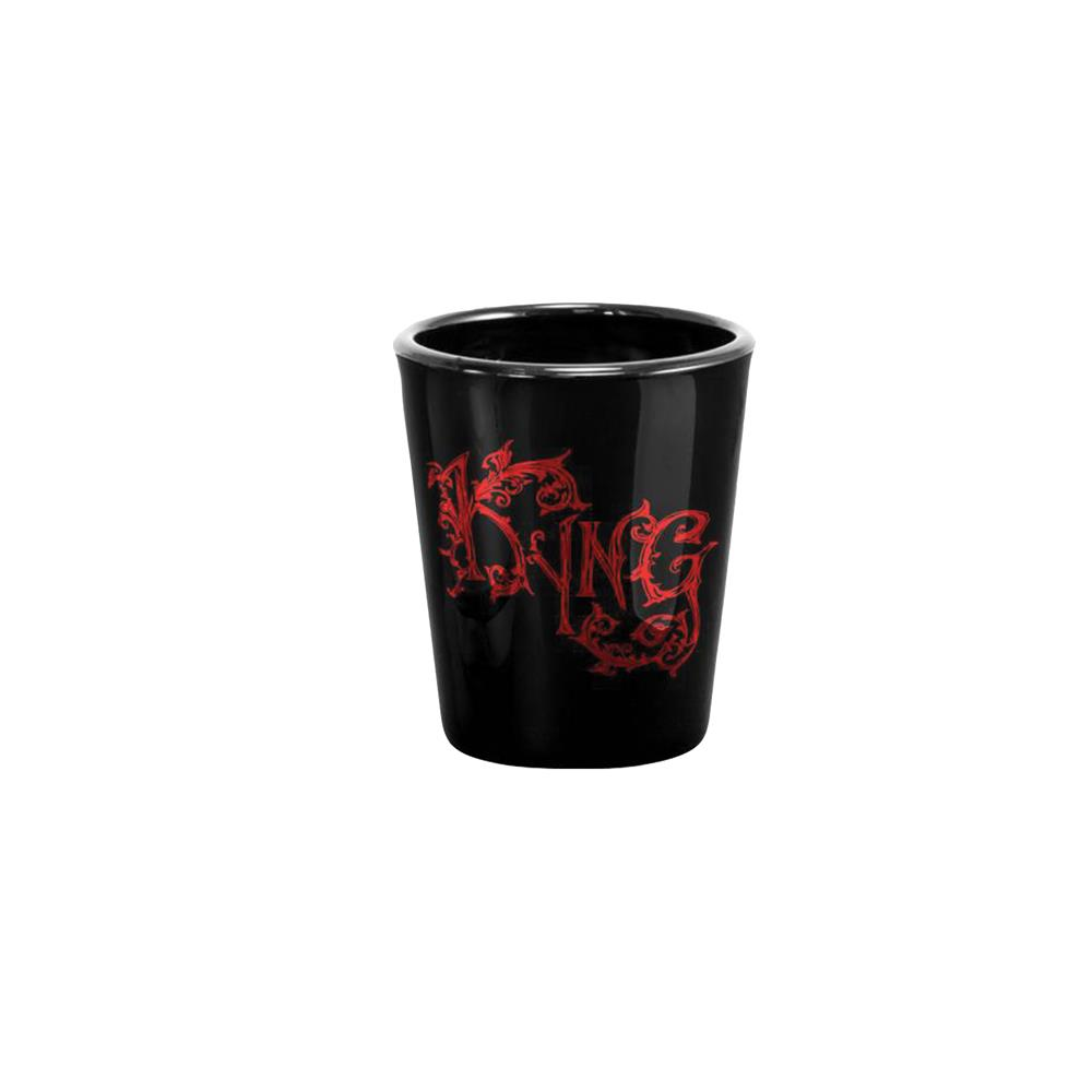 Breathe In The Water Black Shot Glass