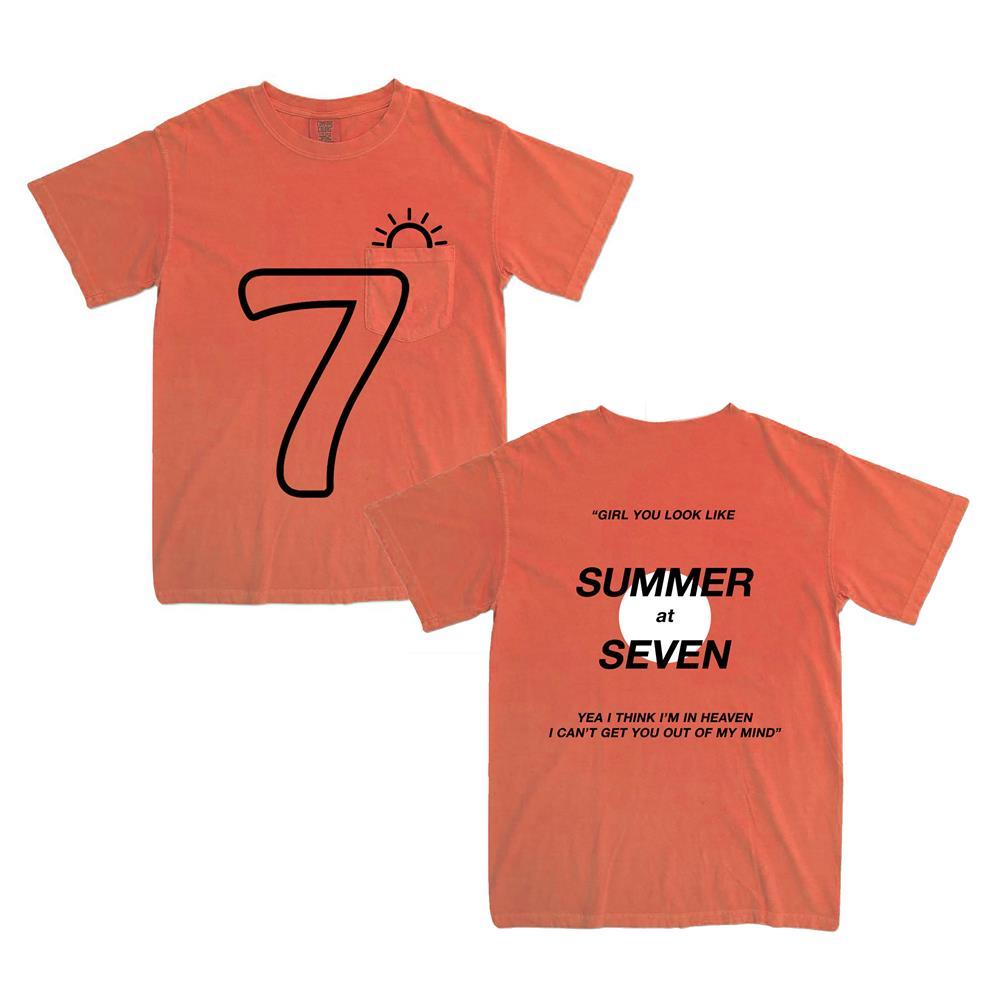 Summer At Seven Bright Salmon Pocket
