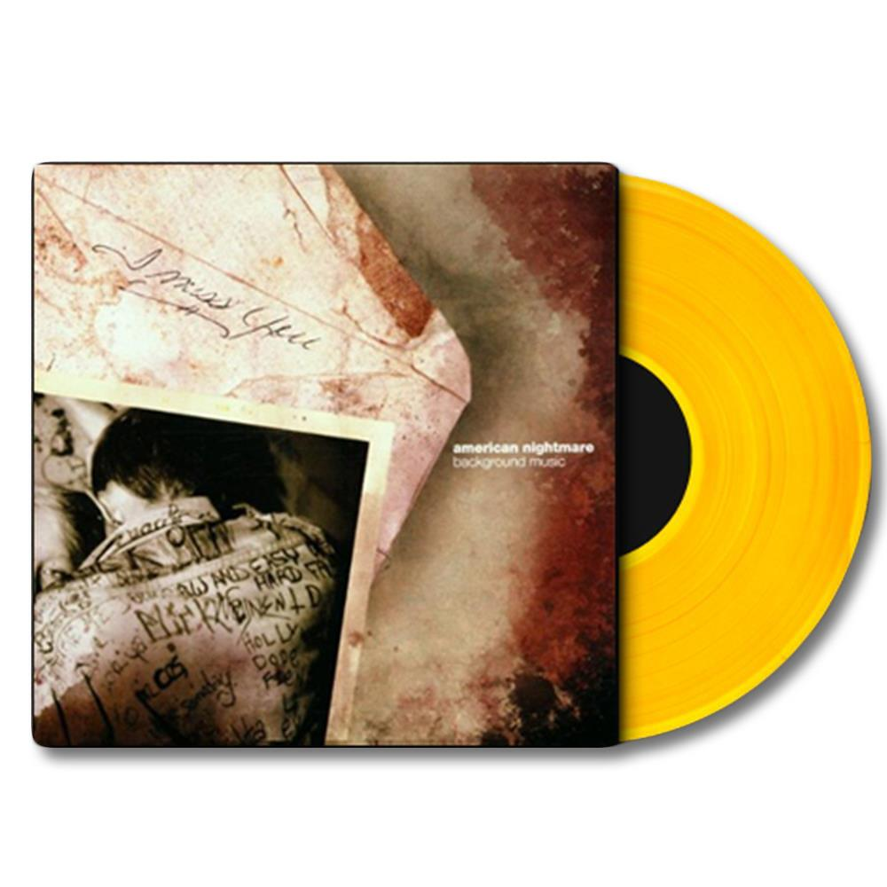 Background Music - Clear Yellow LP