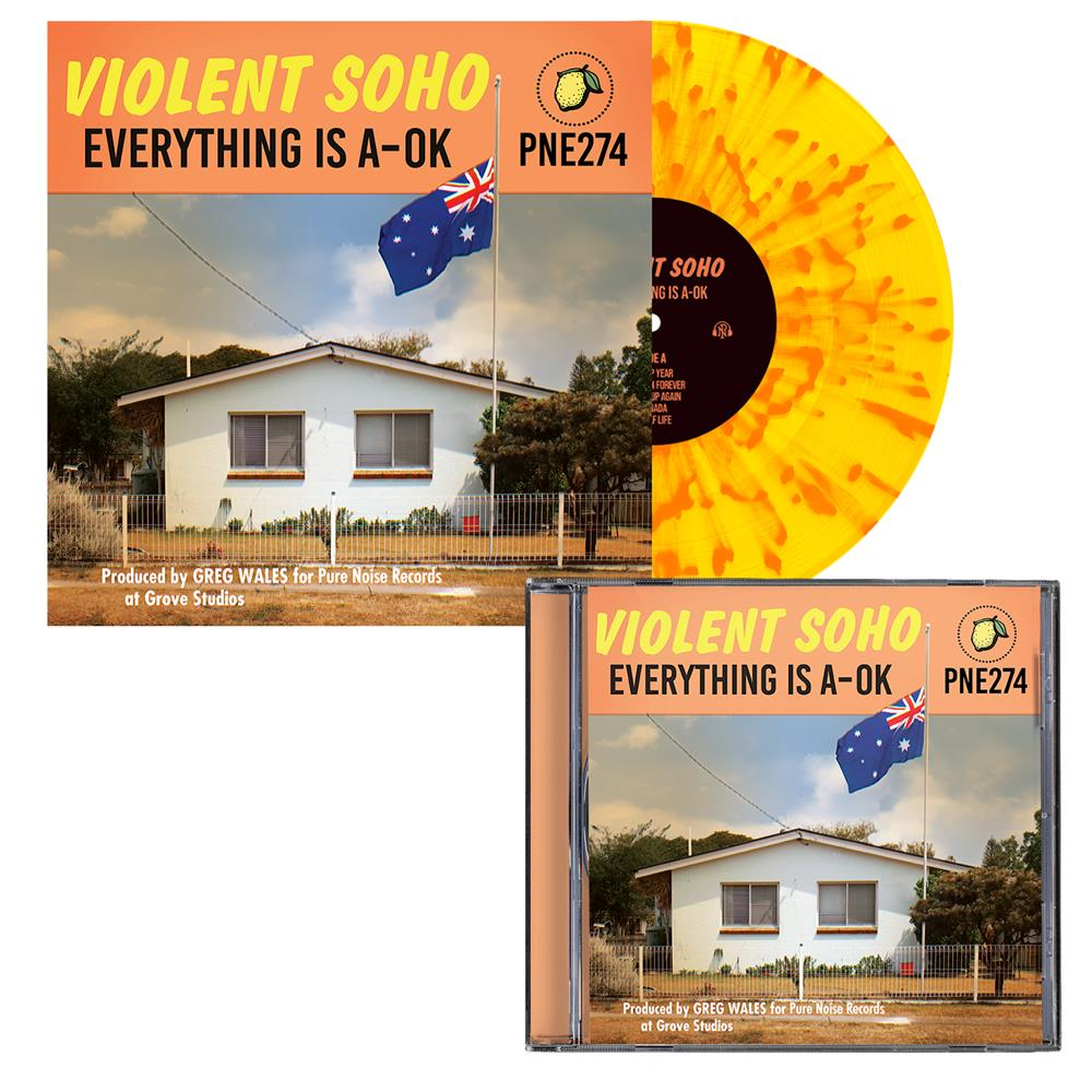 Everything is A-OK CD+LP
