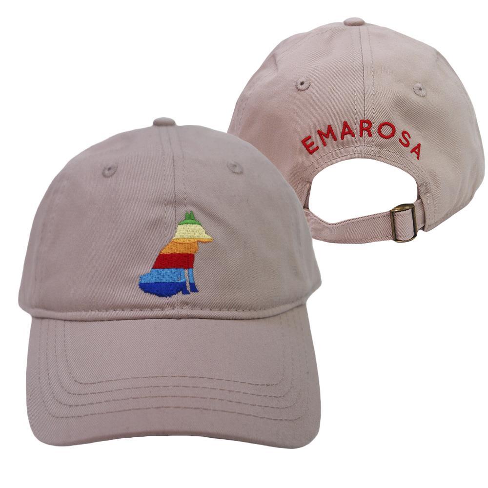 Rainbow Fox Tan Hat