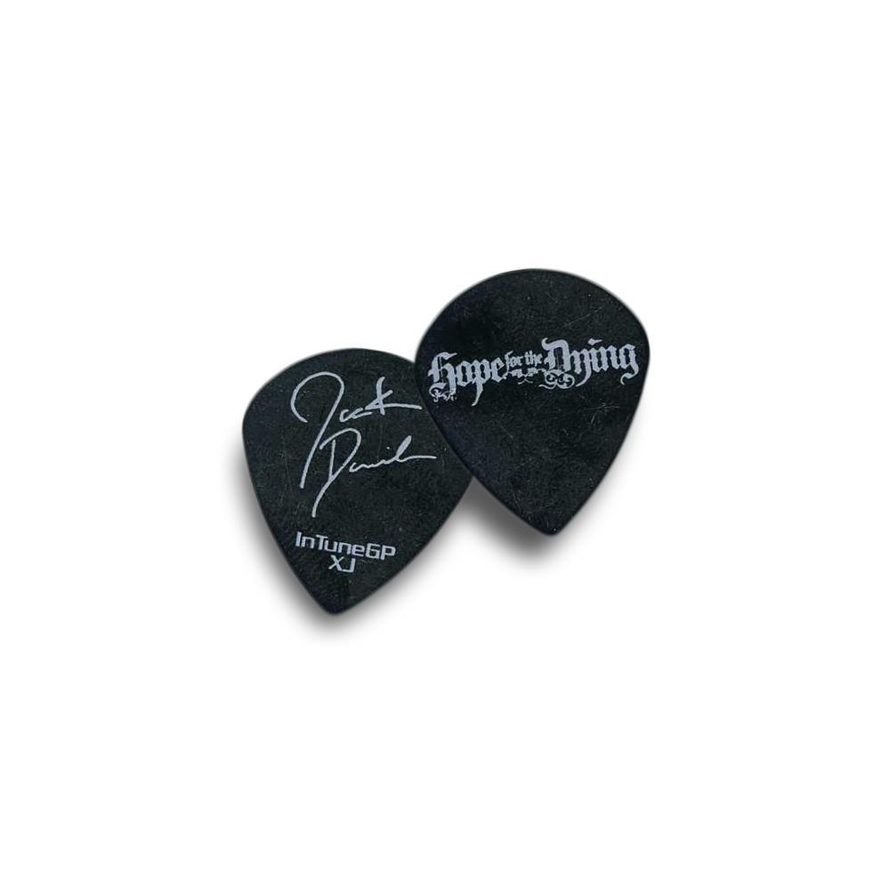 Band Signature Guitar Pick