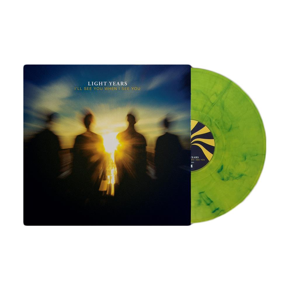 I'll See You When I See You Marbled Yellow/Blue Vinyl LP