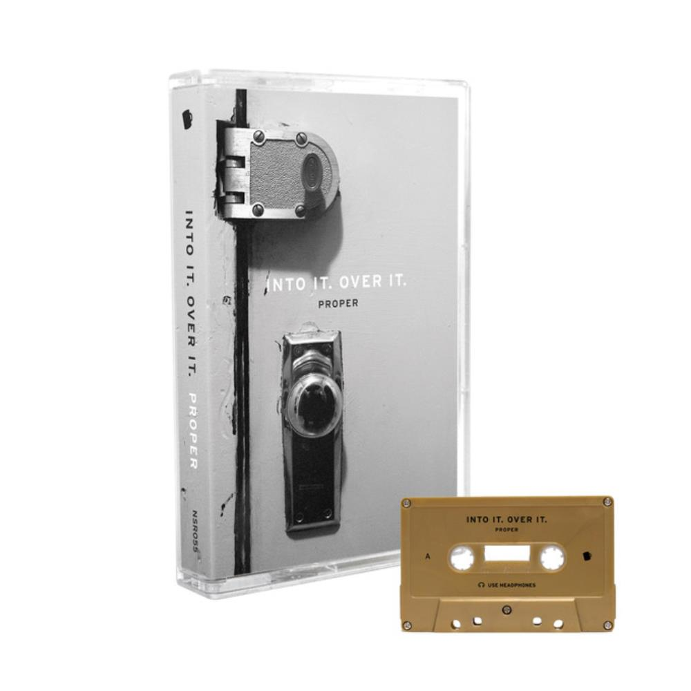 Into It Over It Proper Gold Cassette