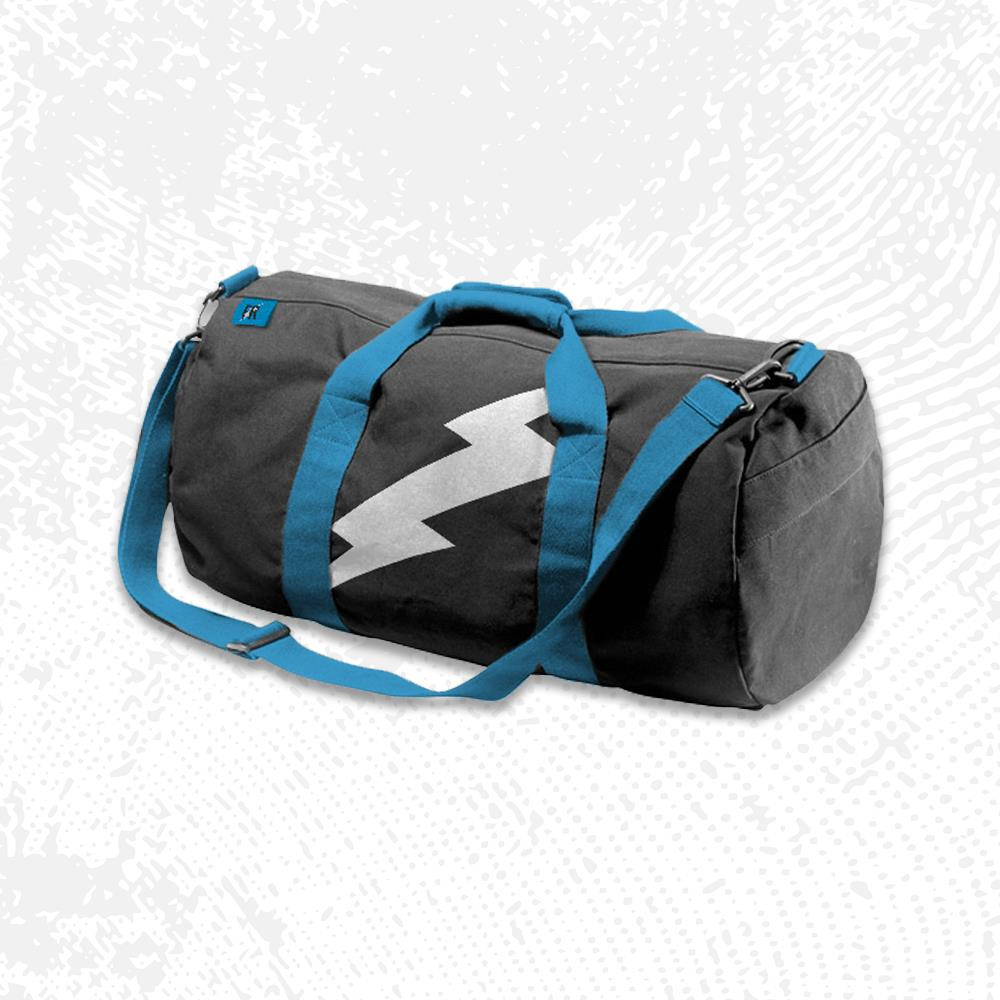 Lightning Logo Duffle Bag                        Merch