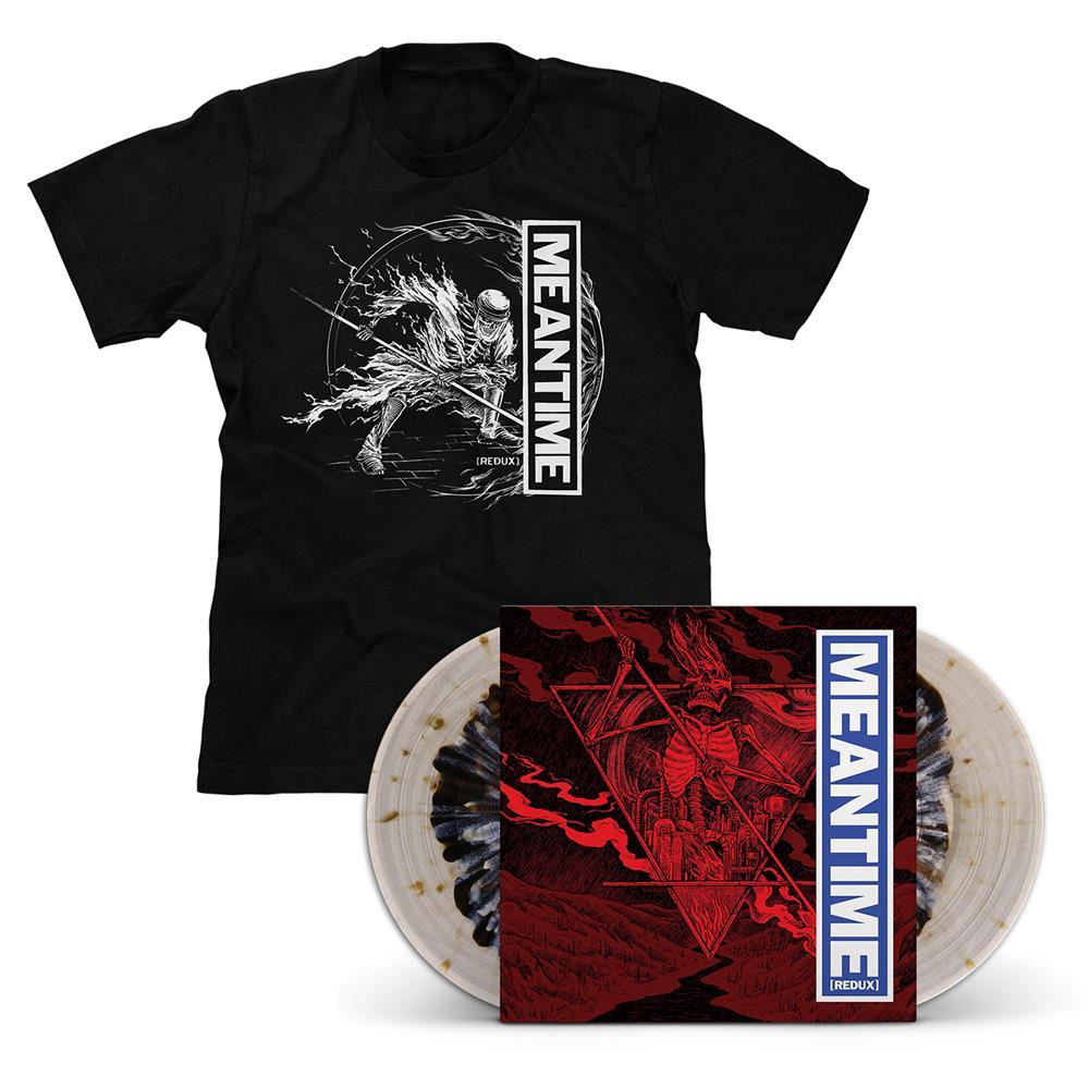 Meantime [REDUX] Color In Color LP & T-Shirt - Various Artists
