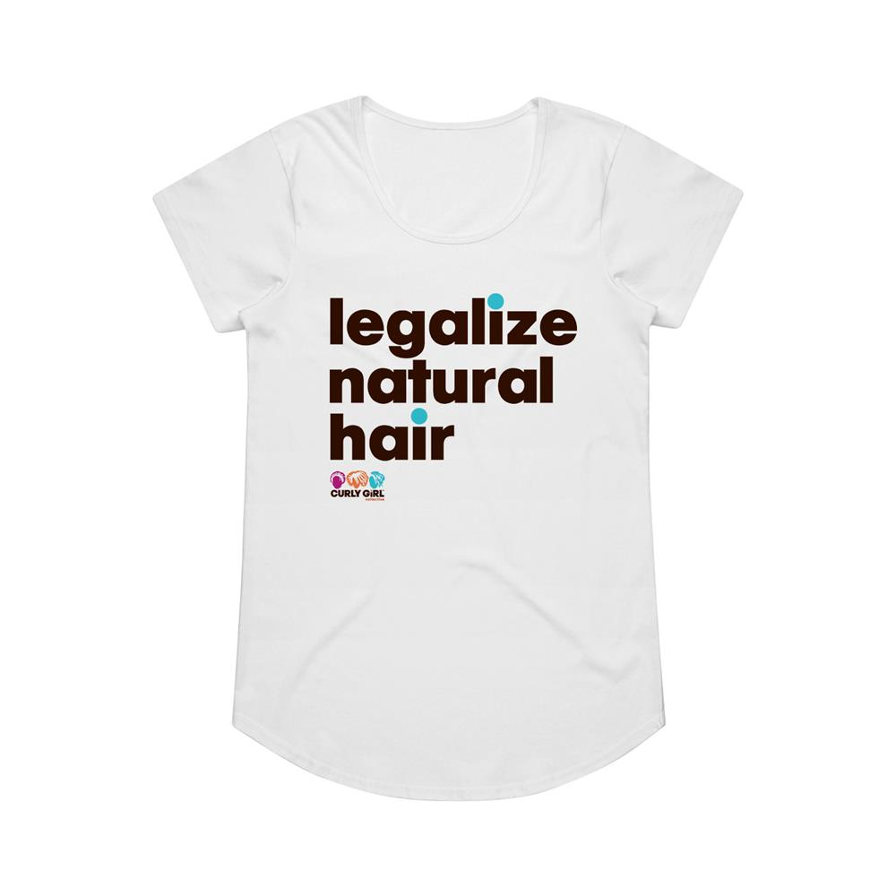 Legalize White Girl's T-Shirt