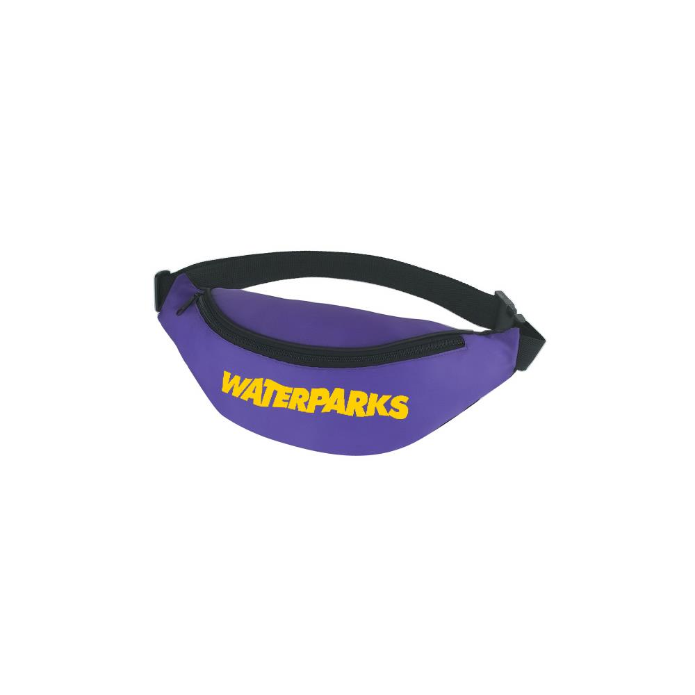 Logo Purple Fanny Pack