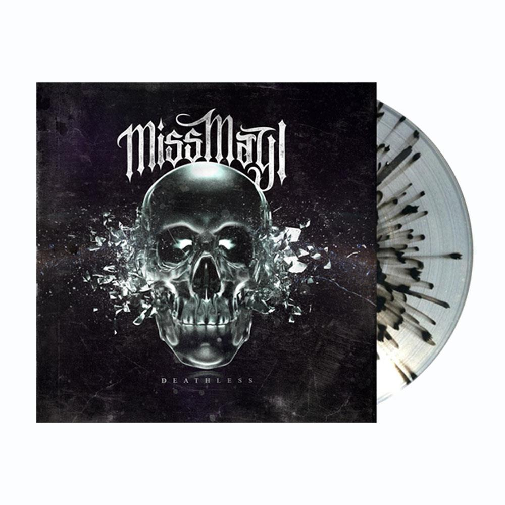 Deathless Ultra Clear W/Black Splatter Vinyl LP