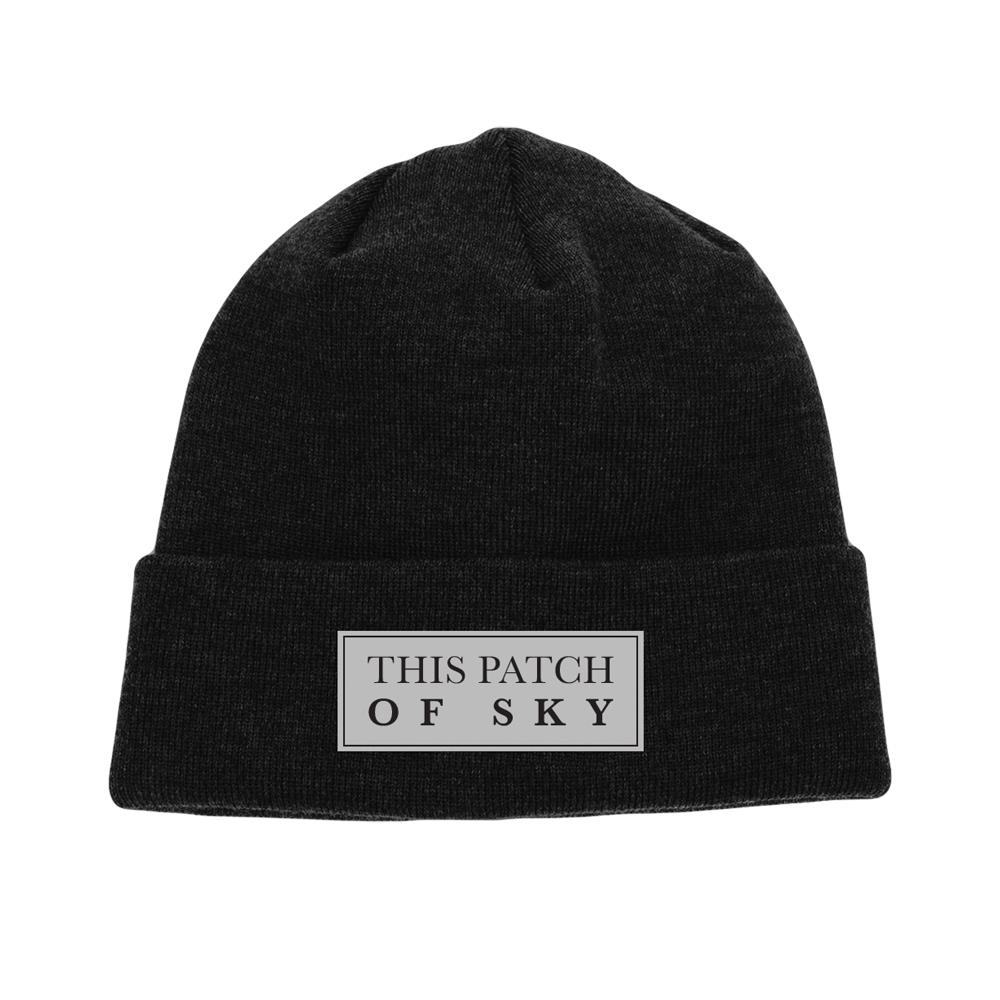 Logo Black Beanie W/ Sewn Patch