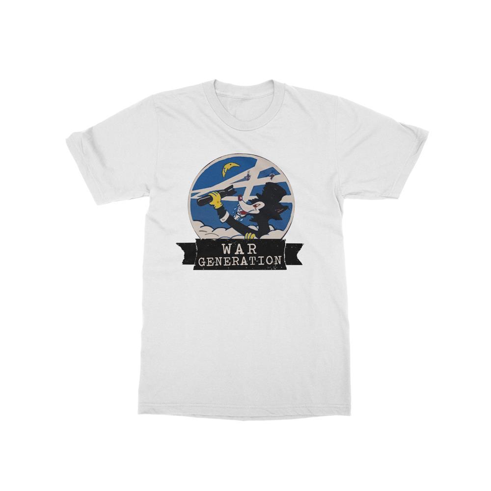 Cat White T-Shirt