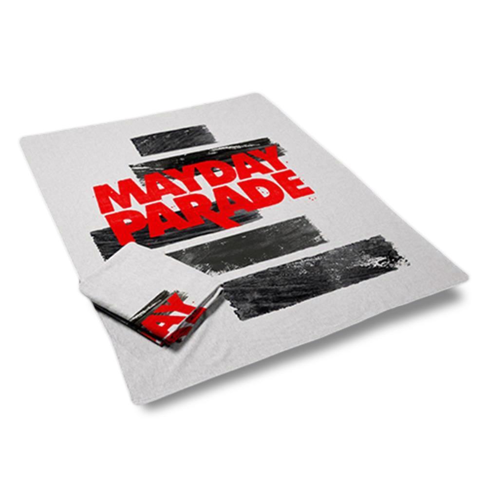 Fleece White Blanket