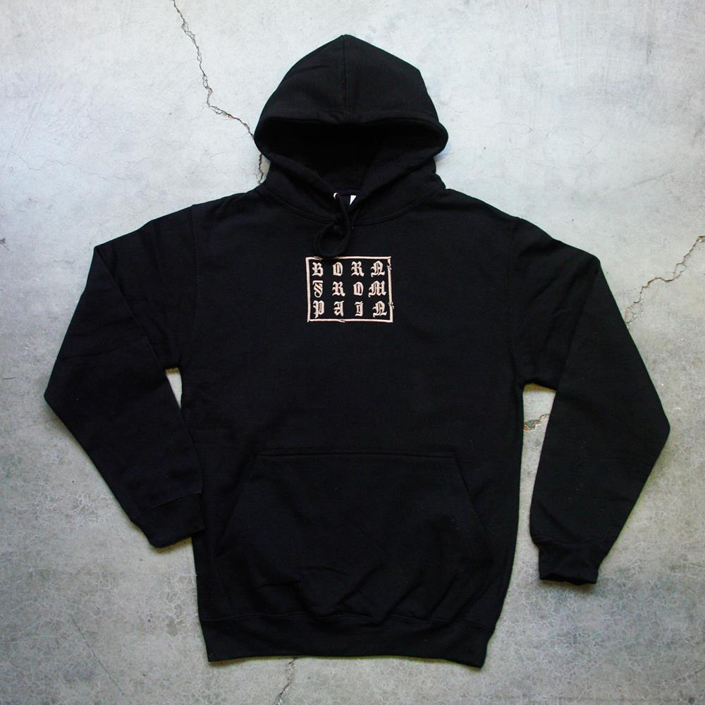 Born From Pain Embroidered Black