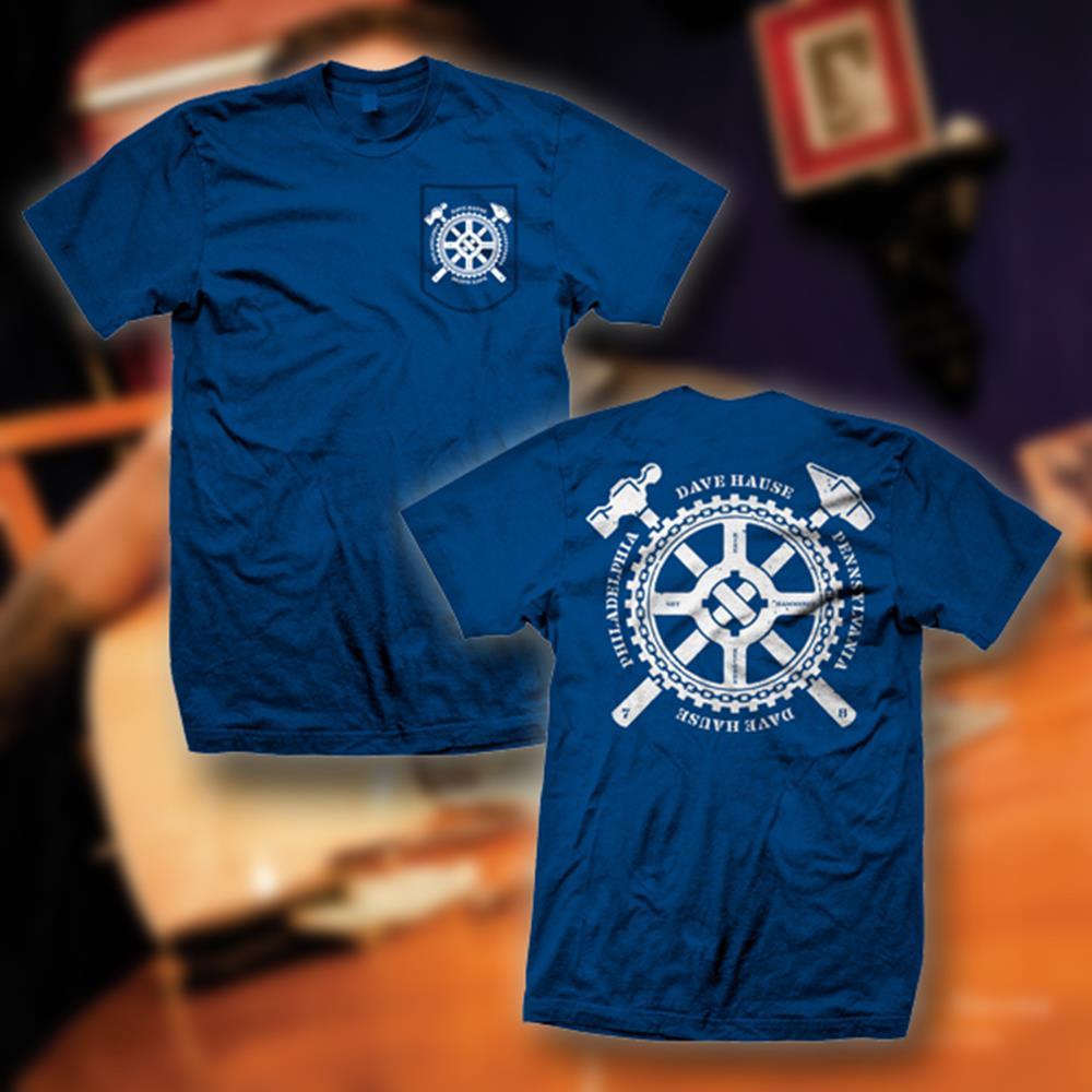 Get Hammered Royal Blue Pocket T-Shirt