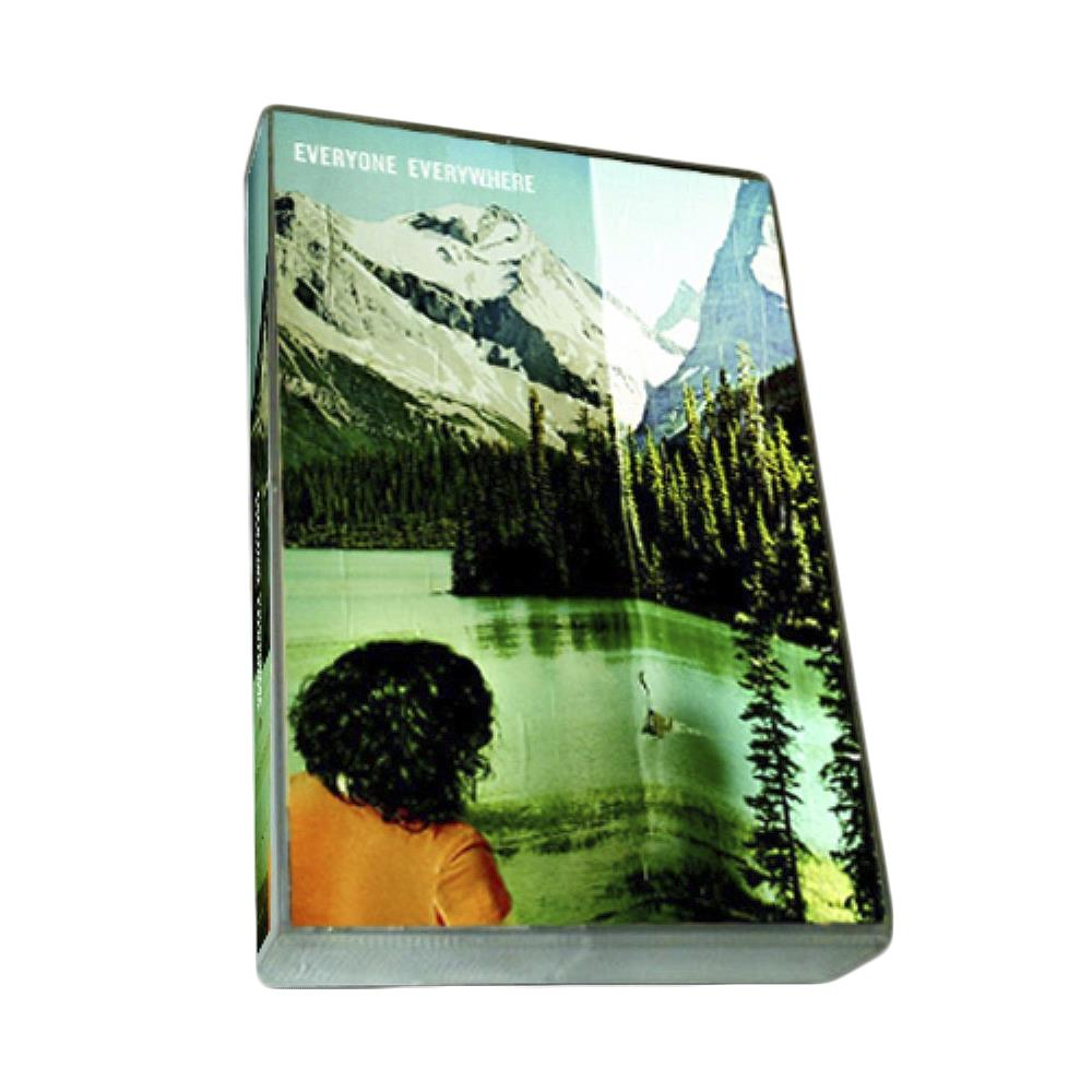 S/T Blue Tint W/ White Print Cassette