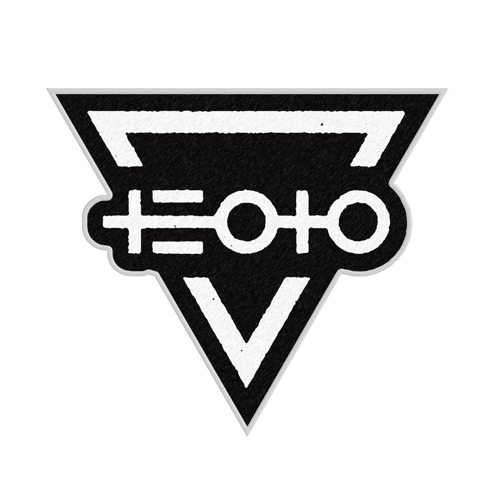 Logo Black Embroidered