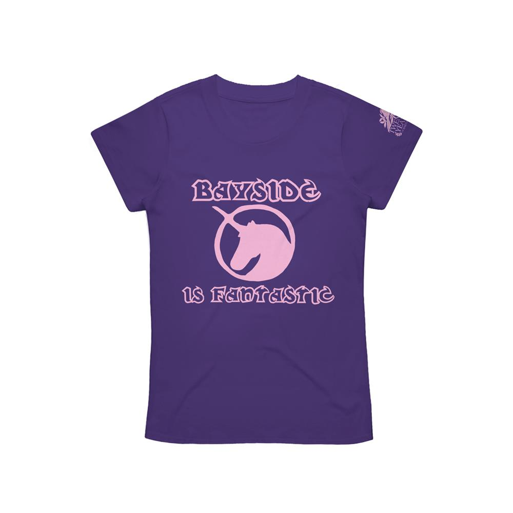 Unicorn Purple Girl's T-Shirt